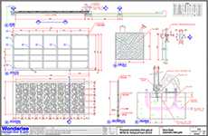 sliding gate plans free. Shop drawing of CNC mathematically generated pattern slide gate Examples  electrical garage doors and gates installed in Hong Kong sliding plans free The Best 100 Sliding Gate Plans Free Image Collections deathgrip