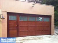 Examples of electrical garage doors and gates installed in for 1 piece garage door